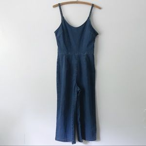 Old Navy One Piece Wide Leg Culotte Overall Romper